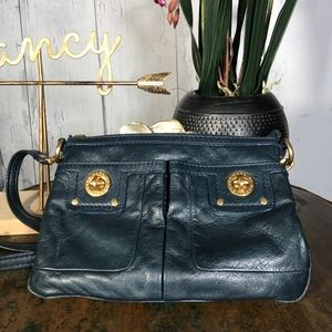Marc by Marc Jacobs Dark Teal Leather Small BagEUC